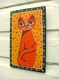 Detail Image for art Red Cat