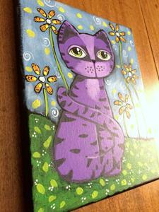 Detail Image for art Purple Tiger