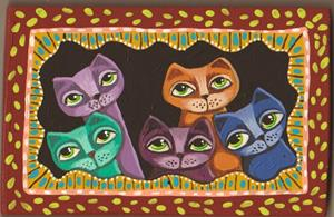 Detail Image for art Kittens Of Color