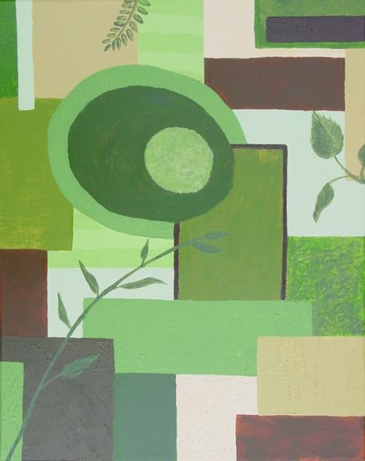 Art: Emerging Spring by Artist Donna Gill