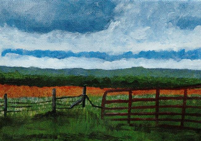 Art: Any Gate In a Storm by Artist Donna Gill