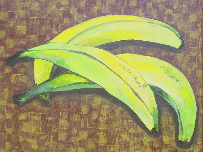 Art: Plantains by Artist Donna Gill