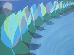 Art: RIP 2007, Elizabeth Fiedel by Artist Donna Gill