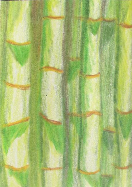 Art: Bamboo by Artist Donna Gill