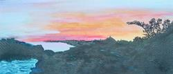Art: Looking Towards Negril by Artist Donna Gill