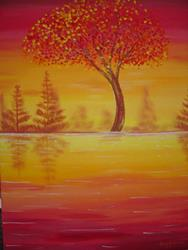 Art: Autumn's Delight by Artist Stacey R. Zimmerman