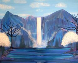 Art: Mountains of Hope by Artist Stacey R. Zimmerman
