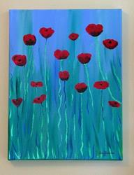 Art: Poppy Melody by Artist Stacey R. Zimmerman
