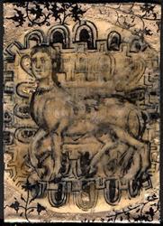 Art: Centaur by Artist Aria Nadii
