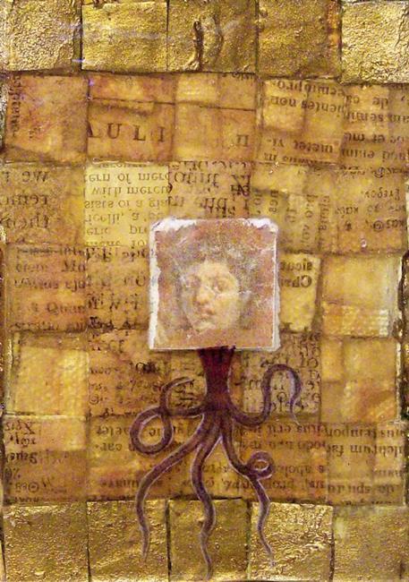 Art: Undersea Dreaming, Pompeii by Artist Aria Nadii