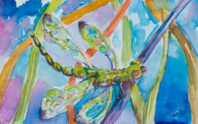 Art: Asian Inspired by Artist Delilah Smith