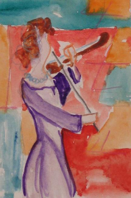 Art: Play the Music by Artist Delilah Smith
