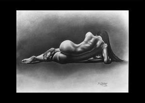 Detail Image for art CAPTURED Giclee PRINT