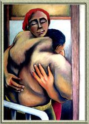 Art: Embrazzo #2 by Artist David Mott