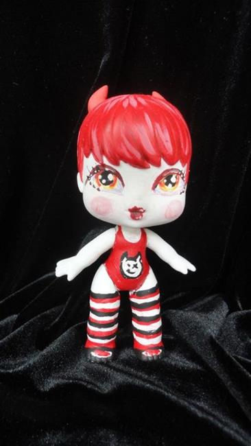 Art: Devilish Nasty Toys for Naughty Children by Artist Noelle Hunt