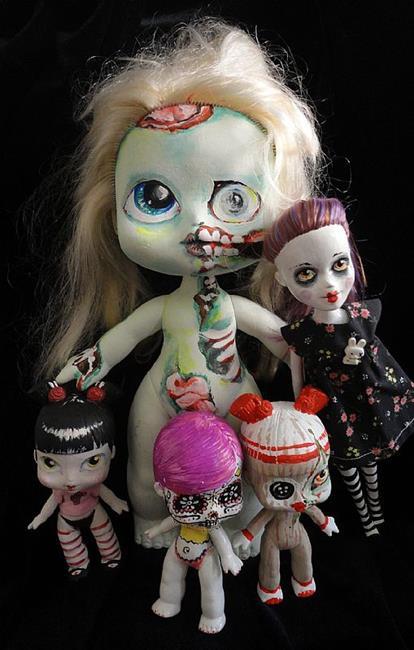 Art: Nasty Toys for Naughty Children (Various group ) by Artist Noelle Hunt
