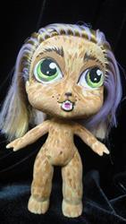 Art: WULFIE Wear-wolf  Nasty Toys for Naughty Children by Artist Noelle Hunt