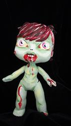 Art: Zombie Girl (Nasty Toys for Naughty Children) by Artist Noelle Hunt