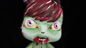 Detail Image for art Zombie Girl (Nasty Toys for Naughty Children)