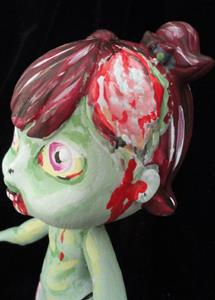 Detail Image for art Zombie Girl (Nasty Toys for Naughty Children)