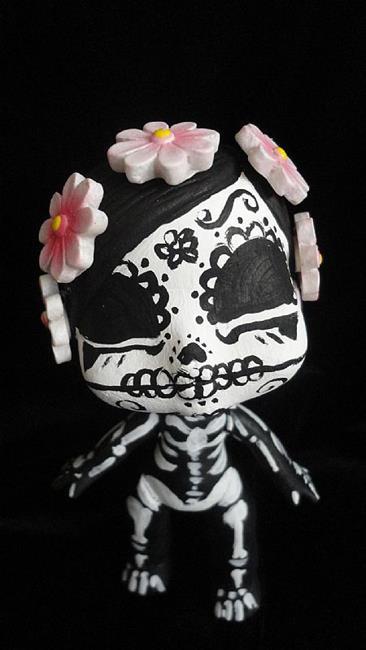 Art: Day of the Dead 2 (Nasty Toys for Naughty Children) by Artist Noelle Hunt