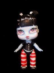 Art: Liddle Vampire (Nasty Toys for Naughty Children) by Artist Noelle Hunt