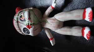 Detail Image for art Sock-Monkey Zombie inside me (Nasty Toys for Naughty Children)