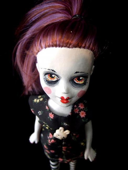 Art: LillyClonia (Nasty Toys for Naughty Children) by Artist Noelle Hunt