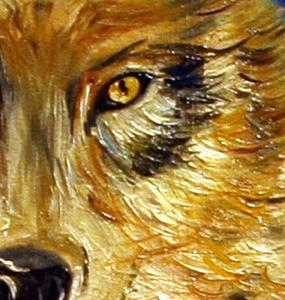 Detail Image for art Winter Wolf