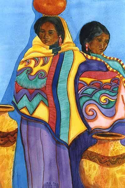 Art: Blanket Girl Club by Artist Naquaiya