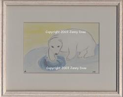 Art: Polar Fishing by Artist Jenny Doss