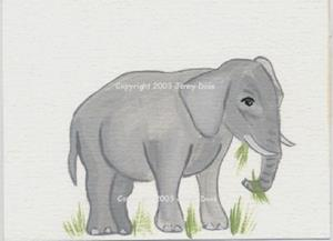 Detail Image for art Elephant