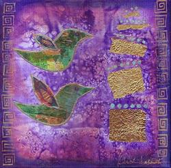Art: Avian Muse by Artist Christine Wasankari