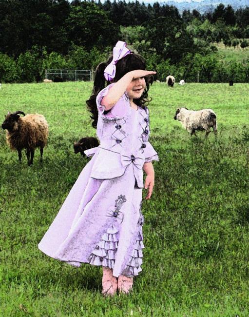 Art: Sheep? by Artist Carissa M Martos