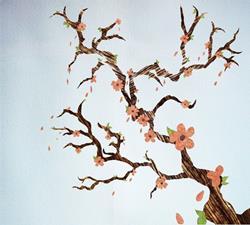 Art: Cherry blossoms jpeg by Artist Carissa M Martos