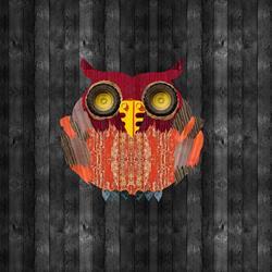 Art: Barn Owl by Artist Carissa M Martos