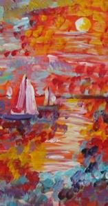 Detail Image for art Sails in the Sun-sold