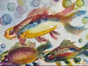 Detail Image for art Happy Fish
