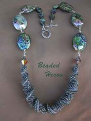 Art: Abalone Heaven by Artist Stephanie M. Daigle
