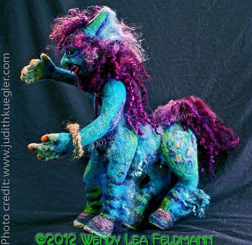 Art: Chiron the Centaur by Artist Wendy L Feldmann