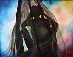 Art: Soul Beneath The Veil by Artist Toneeke Runinwater - Henderson