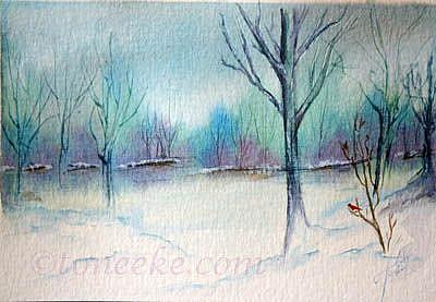 Art: Pretty Visitor by Artist Toneeke Runinwater - Henderson