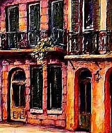 Detail Image for art The Vieux Carre' - SOLD