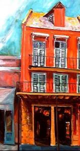 Detail Image for art Decatur Street Strut - SOLD