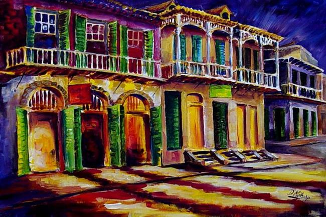 Art: Bold New Orleans - SOLD by Artist Diane Millsap
