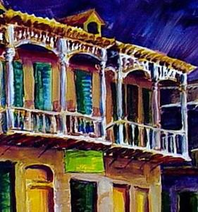 Detail Image for art Bold New Orleans - SOLD