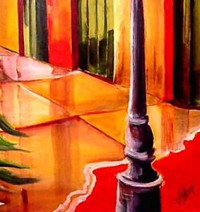 Detail Image for art Pirate's Alley - SOLD