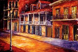 Art: Old French Quarter - SOLD by Artist Diane Millsap