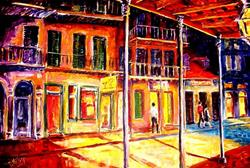 Art: French Quarter - SOLD by Artist Diane Millsap