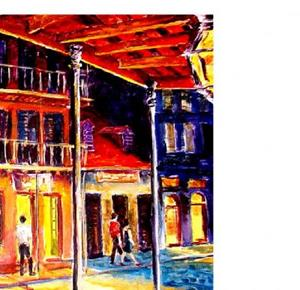 Detail Image for art French Quarter - SOLD
